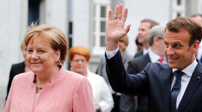Merkel ve Macron'dan gerilimi düşürme çağrısı