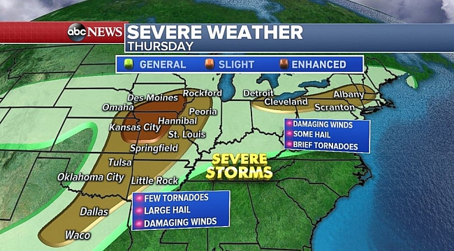More Midwest tornadoes possible after 26 reported since Monday