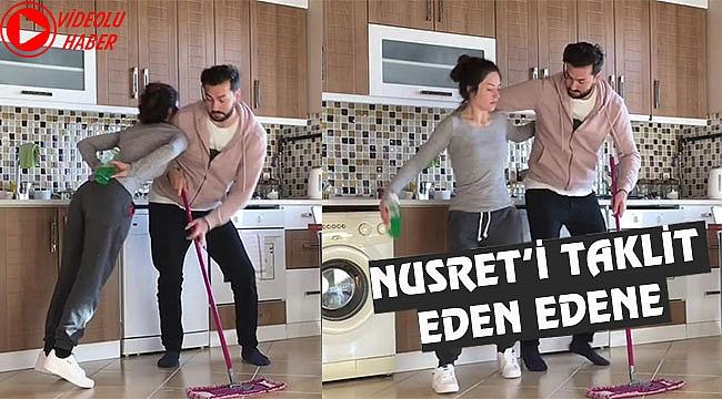 Nusret'in Son Dansını Böyle Taklit Ettiler