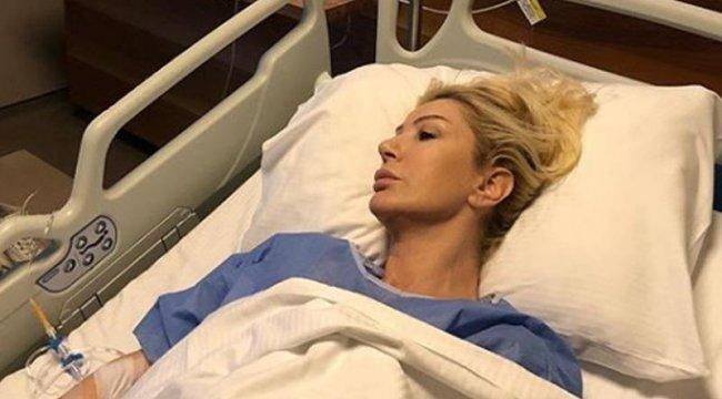 Seda Sayan hastaneye kaldırıldı