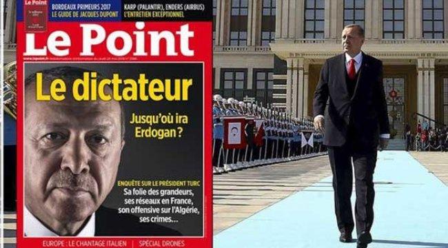Skandal Erdoğan kapağına Macron'dan destek