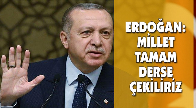 Türkiye'nin Gündemi: Tamam mı-Devam mı?