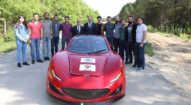 Uludağ Üniversitesi öğrencileri elektrikli otomobil üretti