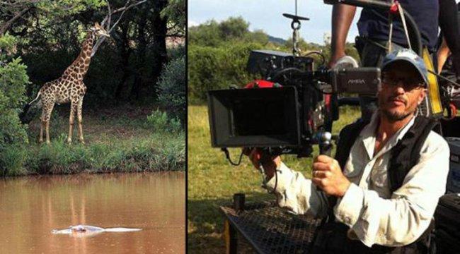 Ünlü yönetmen zürafanın darbesiyle hayatını kaybetti
