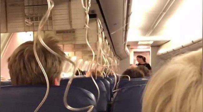 Yine aynı firmanın uçağında korku dolu anlar!