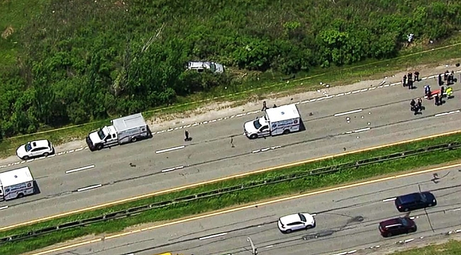 3 teens ejected, killed when stolen SUV overturns on Long Island parkway