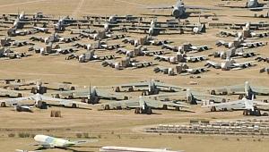 ABD'nin En Büyük uçak mezarlığı