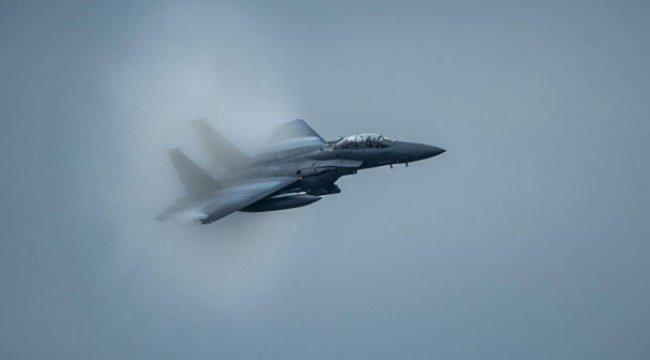 ABD savaş uçakları vurdu!