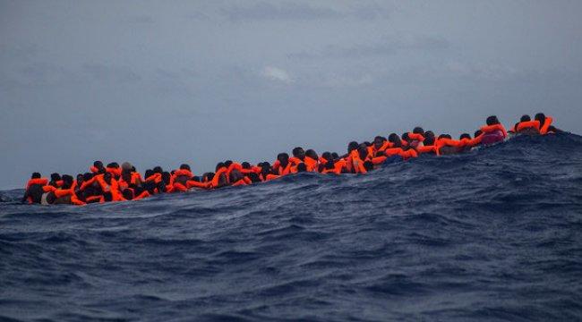 Akdeniz'de yeni bir felaket! 100 kişi kayıp...