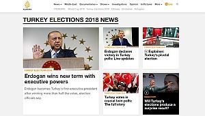 Al Jazeera Türkiye seçimini manşetten gördü: Kıtaları bile aşan zafer!