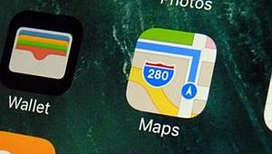 Apple haritalar çöktü, şikayet yağdı