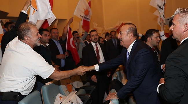 Bakan Mevlüt Çavuşoğlu TASC İftarına Katıldı