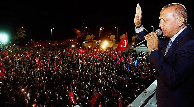 Erdogan declares victory in presidential election in Turkey