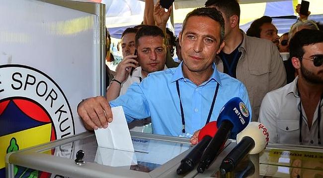 Fenerbahçe'nin 33. başkanı Ali Koç oldu