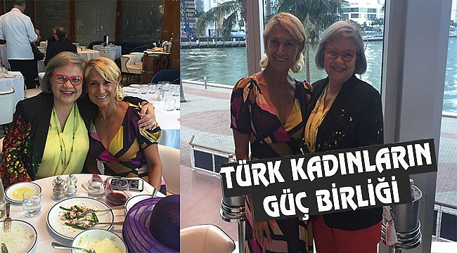 Florida'da Türk Kadınları Güçlerini Birleştirdi