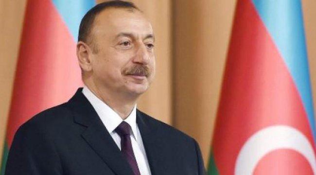 İlham Aliyev, Cumhurbaşkanı Erdoğan'ı kutladı
