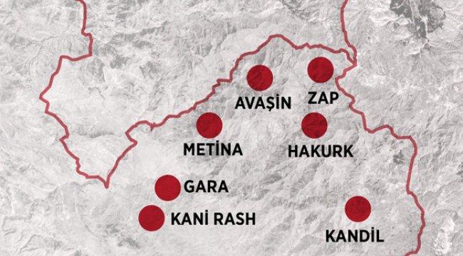 Irak'ın kuzeyinde 400 kilometrelik alan terörden temizlendi