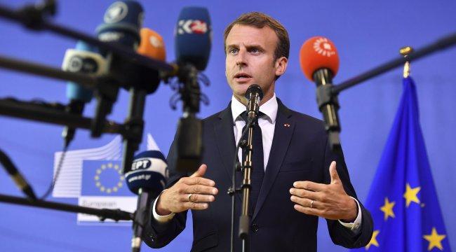 Macron'dan Erdoğan'a tebrik mesajı: Türkiye'deki sorumluluğunuz çok önemli