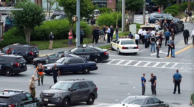 Maryland'ta Gazeteye Silahlı Saldırı