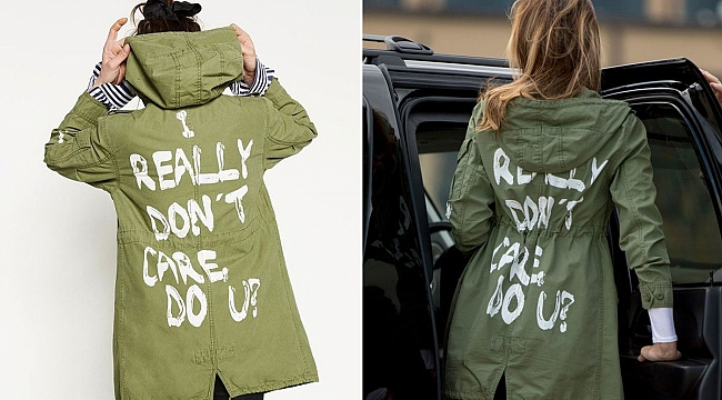 Melania Trump wears jacket with 'I really don't care' written on the back during trip to visit immigrant kids