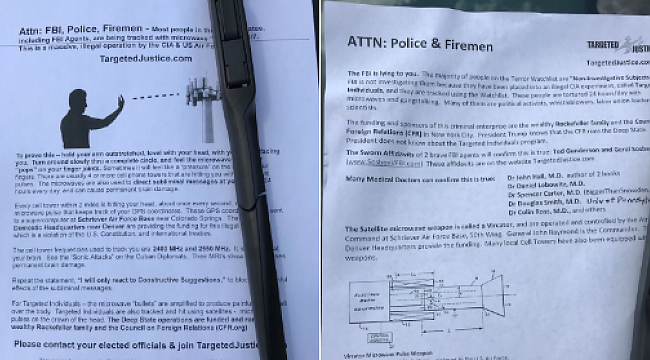 Police warn about fentanyl-laced flyers after deputy hospitalized for touching paper