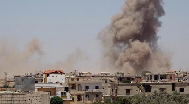 Rusya ve askeri muhaliflerin Dera'daki ateşkes görüşmeleri sonuçsuz kaldı