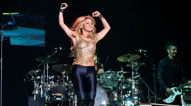 Shakira, Antep fıstığı istedi