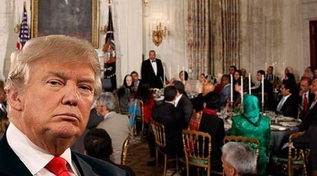 Trump Beyaz Saray'da İftar Verecek