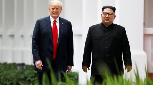 Trump, Kuzey Kore liderine özendi