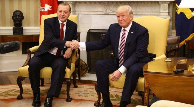 Trump'tan Erdoğan'a tebrik!
