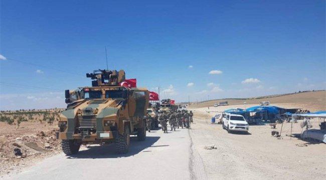 Türk askeri Menbiç'te! İlk görüntüler geldi...