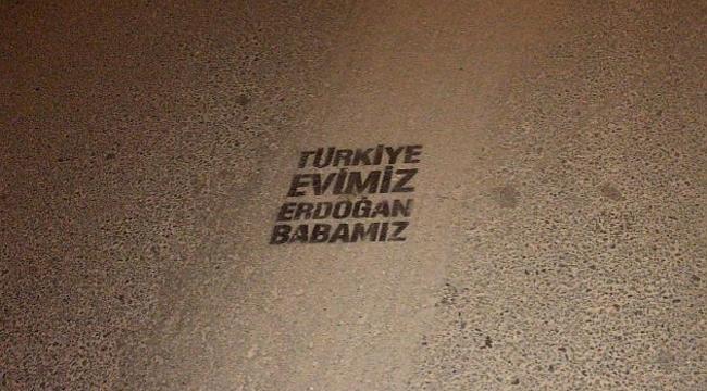 Türkiye Evimiz Erdoğan Babamız