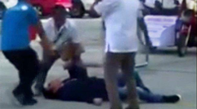 Belediye başkanı törende sniper tarafından vuruldu
