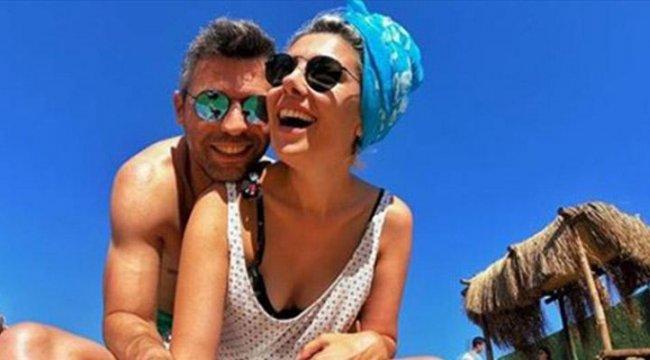 Burcu Binici'nin aşk tatili
