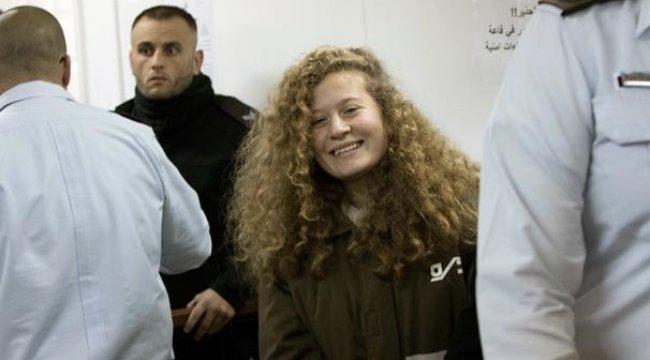 'Cesur Kız' Ahed Tamimi, 8 ayın ardından serbest