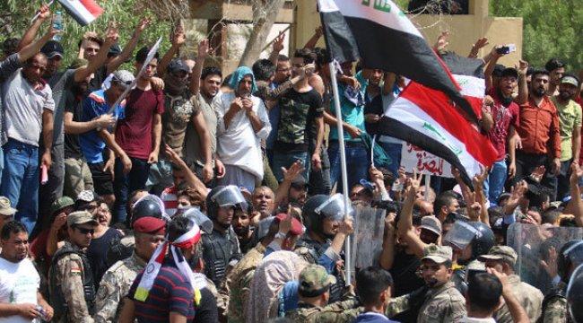 Irak'ın Semava kentinde sokağa çıkma yasağı