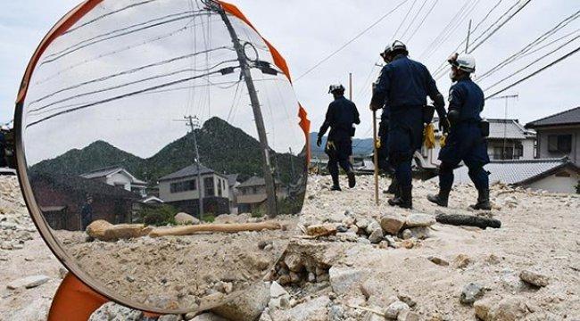 Japonya'daki sel felaketi | Ölü sayısı 176'ya yükseldi!