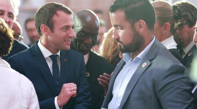 Macron'dan gösterici döven danışmanı hakkında ilk açıklama