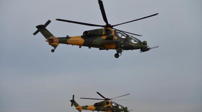 NATO Zirvesi'nde ATAK helikopterleri tören uçuşu yapacak