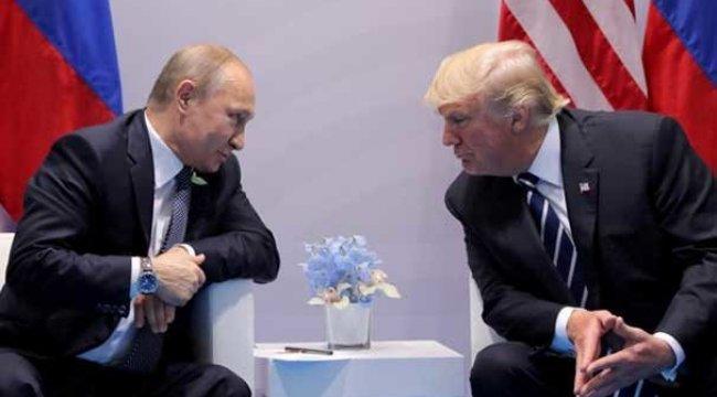 Trump: Putin ile görüşmeden beklentim düşük