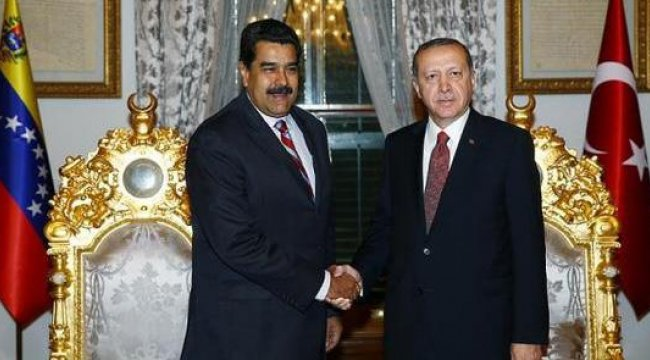 Venezuela lideri Maduro'dan Erdoğan tweet'i