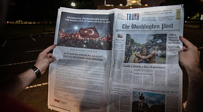Washington Post'ta FETÖ Uyarısı