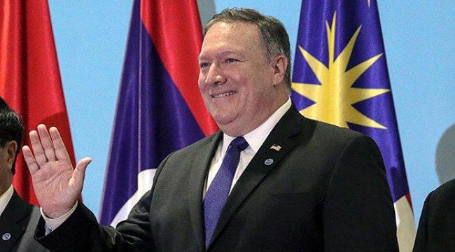 ABD Dışişleri Bakanı Pompeo'dan Kuzey Kore'ye sitem