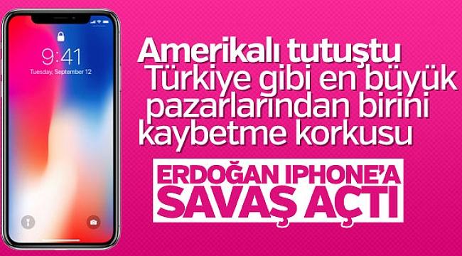 Başkan Erdoğan'ın iPhone boykot çağrısı