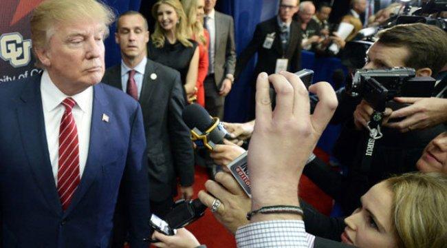 BM'den uyarı: Trump gazetecileri hedef gösteriyor