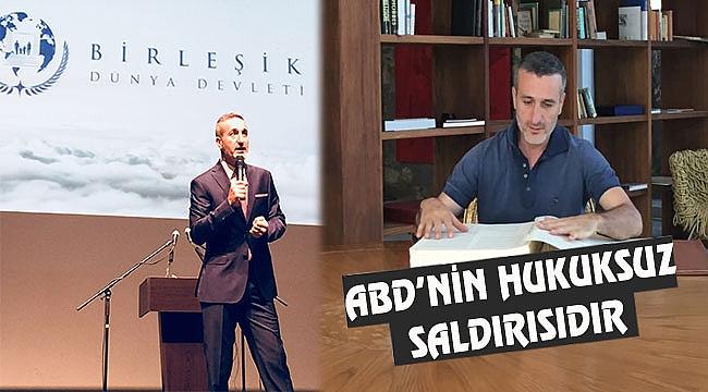 Enis Timuçin'den ABD'ye Sert Mesaj