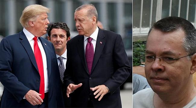 Erdoğan'dan ABD'ye Rahip Brunson yanıtı