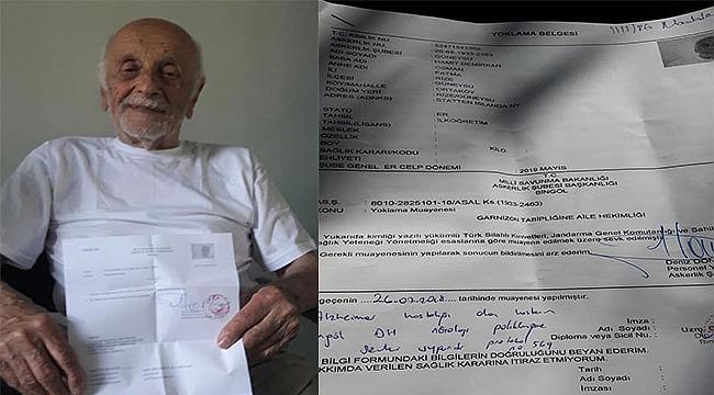 Hamit Dayı 85 Yaşında Askere Alındı