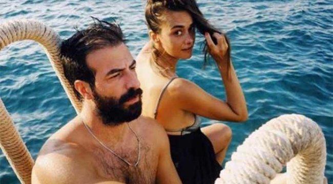 Hande Soral-İsmail Demirci'nin tatil keyfi