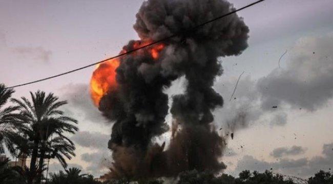 İsrail'den Gazze'ye ikinci hava saldırısı